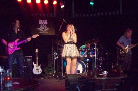 BeX live with her Band at The Bedford