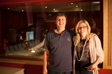 BeX recording at Modern World Studios with Greg Haver (Manic St Preachers/ Mel C)
