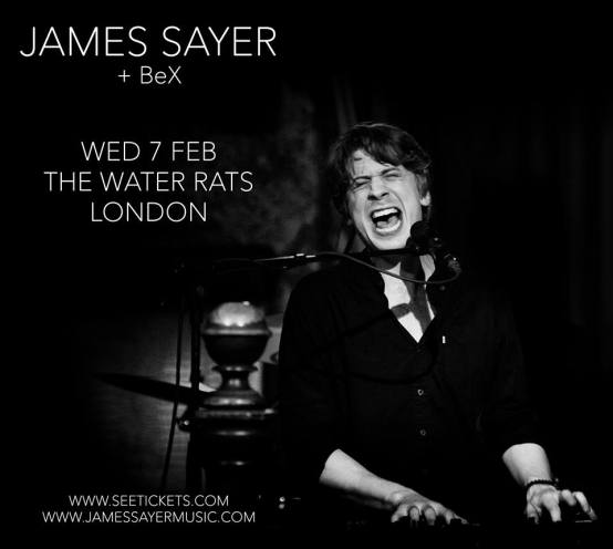 BeX - SUPPORTS JAMES SAYER FEB 7TH 2018